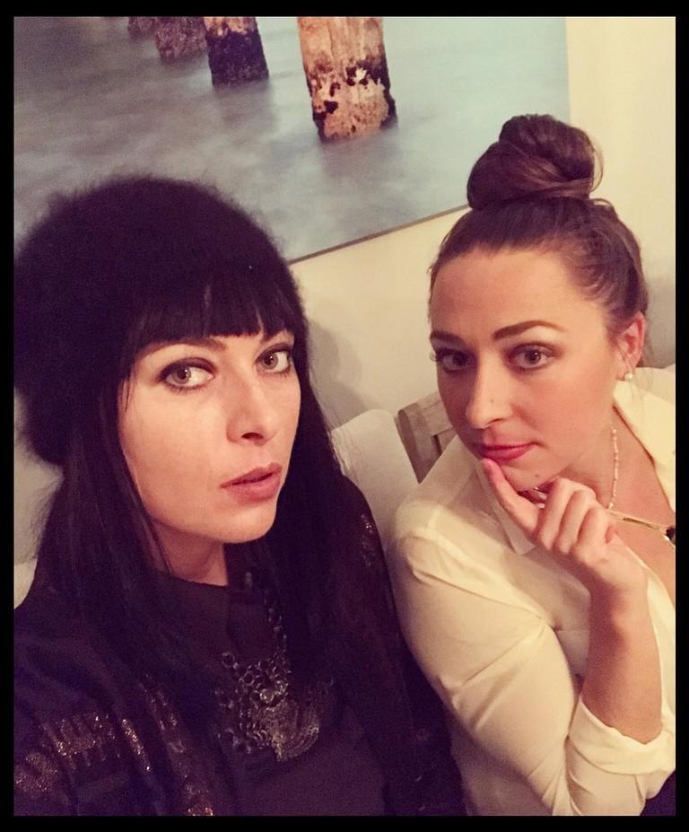 Мария Шарапова и Ариана Кукорс