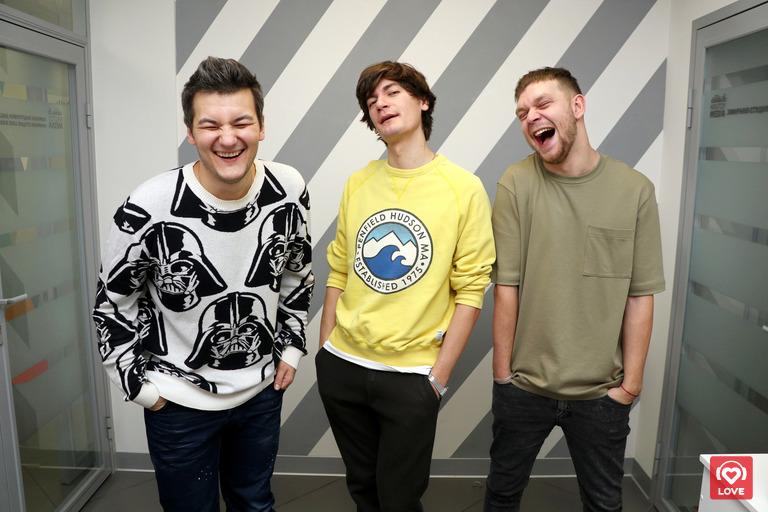 Красавцы Love Radio и Александр Гудков