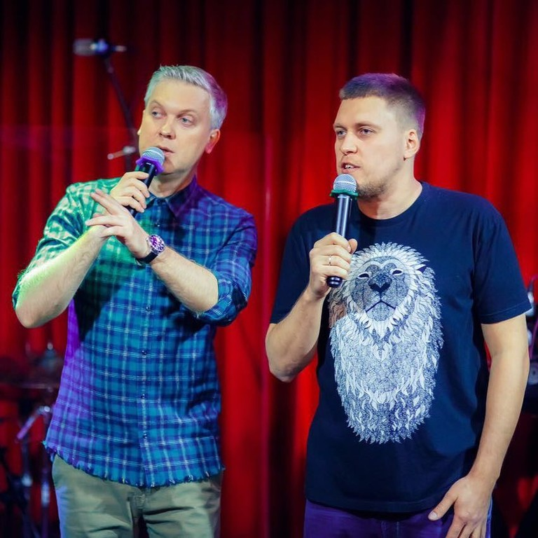 Сергей Светлаков и Александр Незлобин