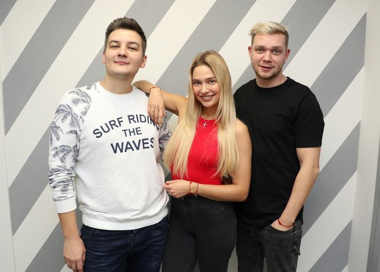 Наталья Рудова и Красавцы Love Radio