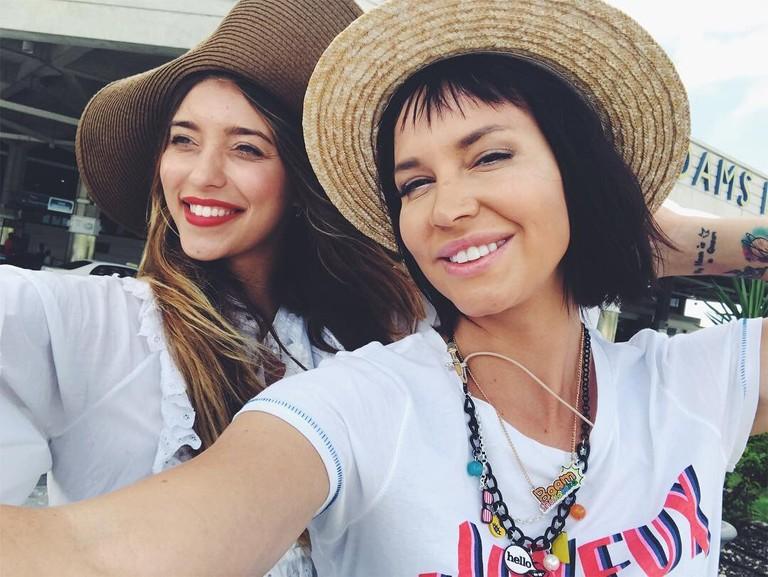 Регина Тодоренко и Натали Неведрова