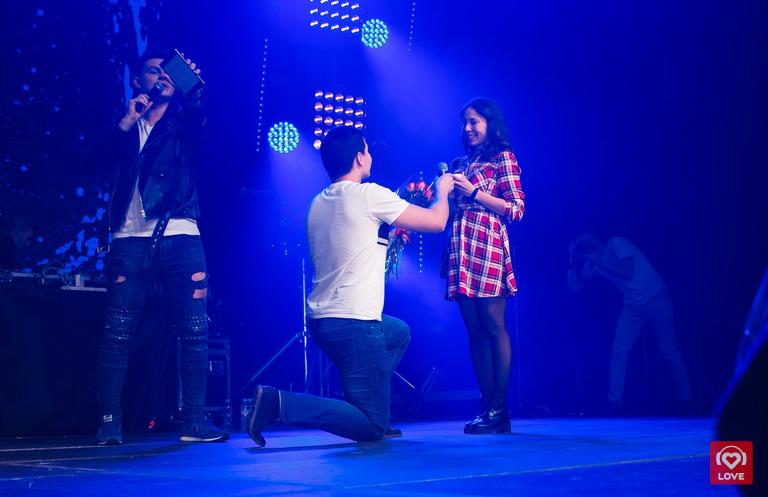 Предложение руки и сердца на Big Love Show 2018 в Екатеринбурге