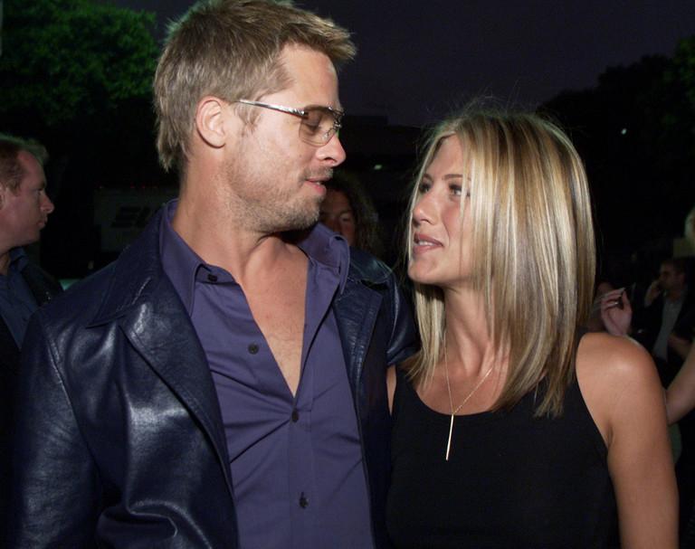 Брэд Питт и Дженнифер Энистон - 2001 год