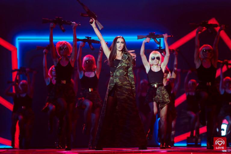 Ольга Бузова. Big Love Show 2018 в Москве