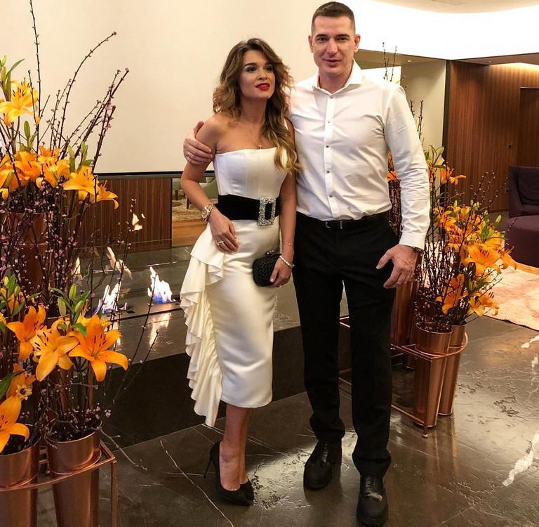 Ксения Бородина с супругом