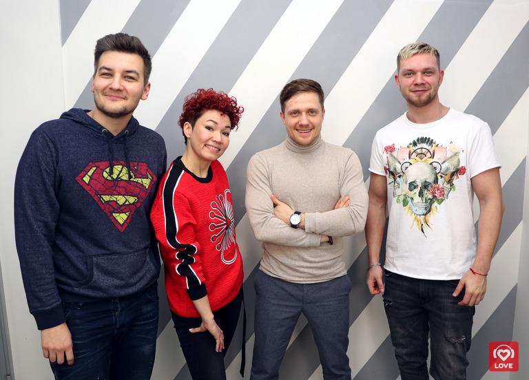Красавцы Love Radio и участники шоу «Студия СОЮЗ»