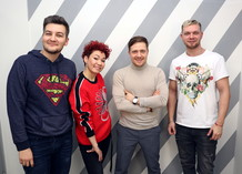 Красавцы Love Radio и участники шоу «Студии СОЮЗ»