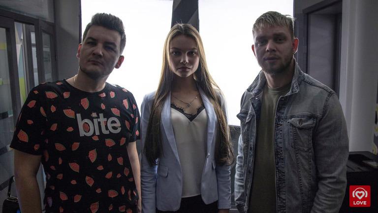 «Мисс Россия 2018» Юлия Полячихина и Красавцы Love Radio