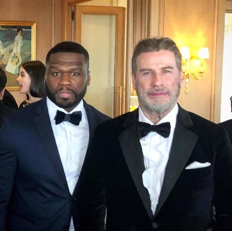 50 Cent и Джон Траволта