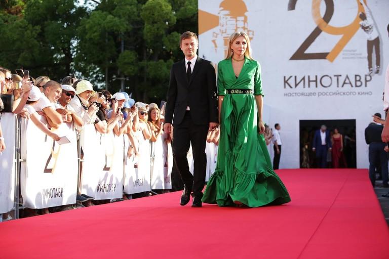 Сергей Табунов и Светлана Бондарчук