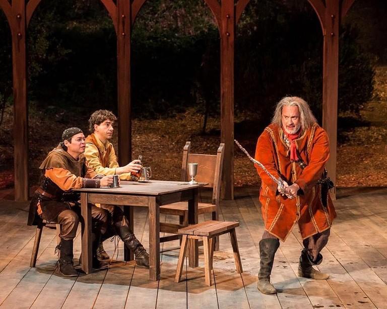 Постановка пьесы Уильяма Шекспира «Генрих IV» с Томом Хэнксом