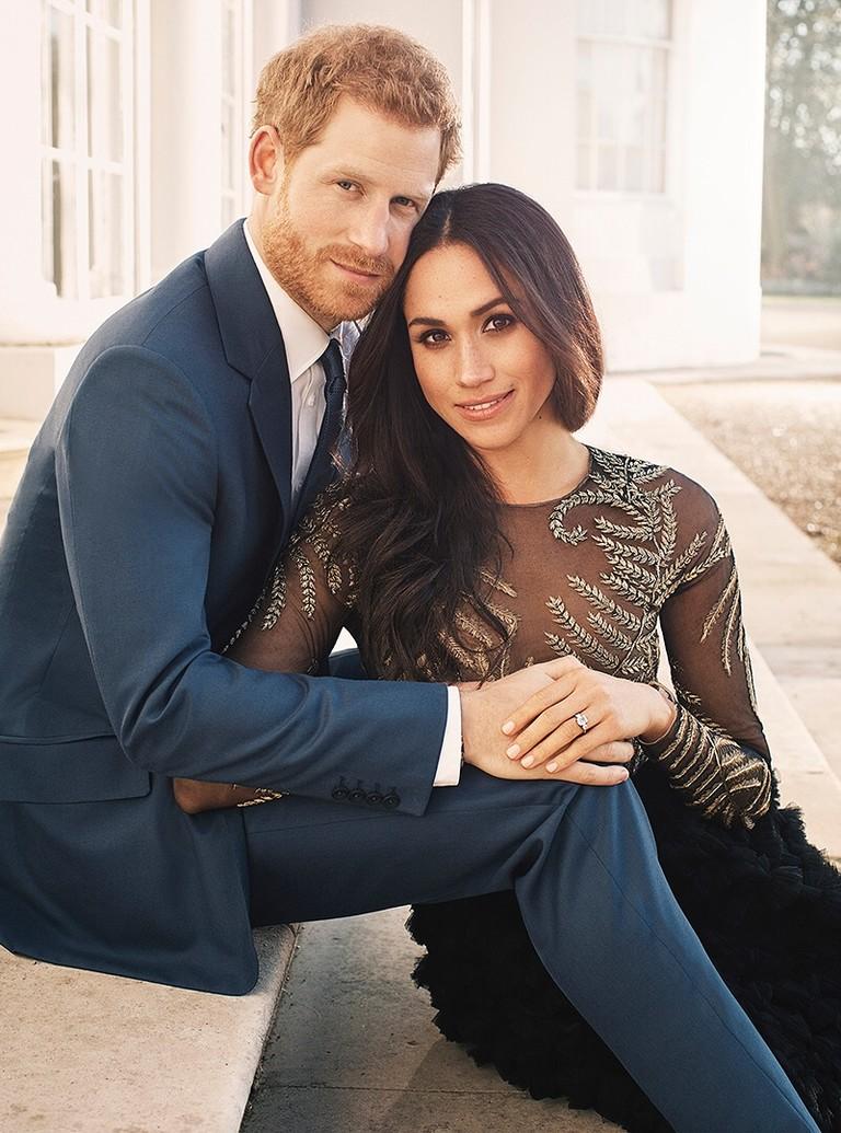 Принц Гарри и Меган Маркл до свадьбы