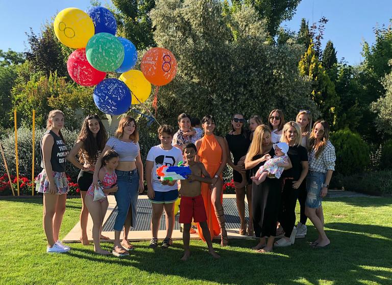 Джорджина Родригес с Криштиану-младшим и гости праздника