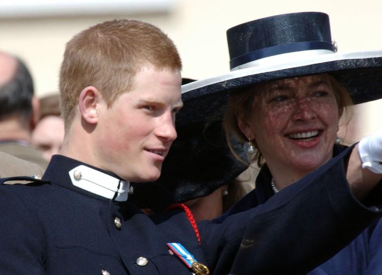 Принц Гарри и Тигги Петтифер