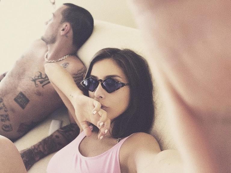 Гуф и Кети Топурия