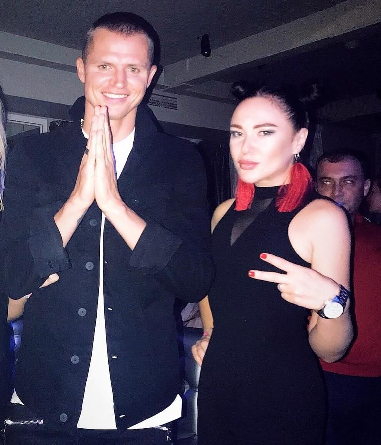 Дмитрий Тарасов и Кристина Замир