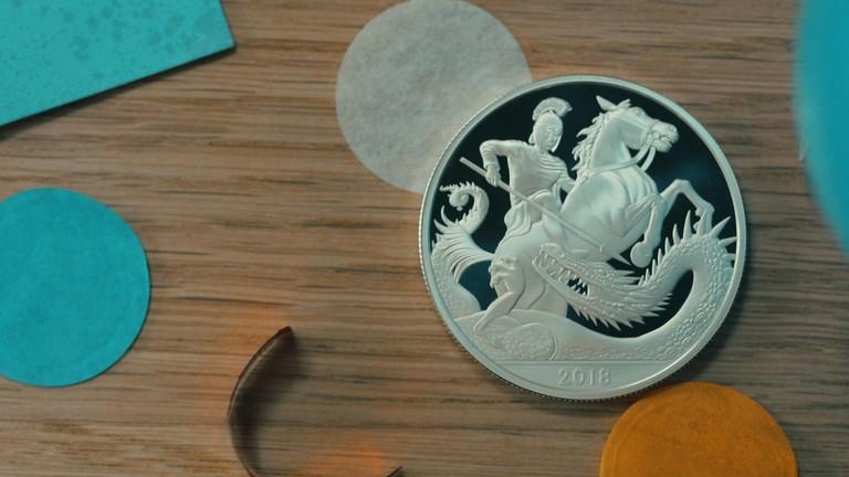 Монета принца Джорджа