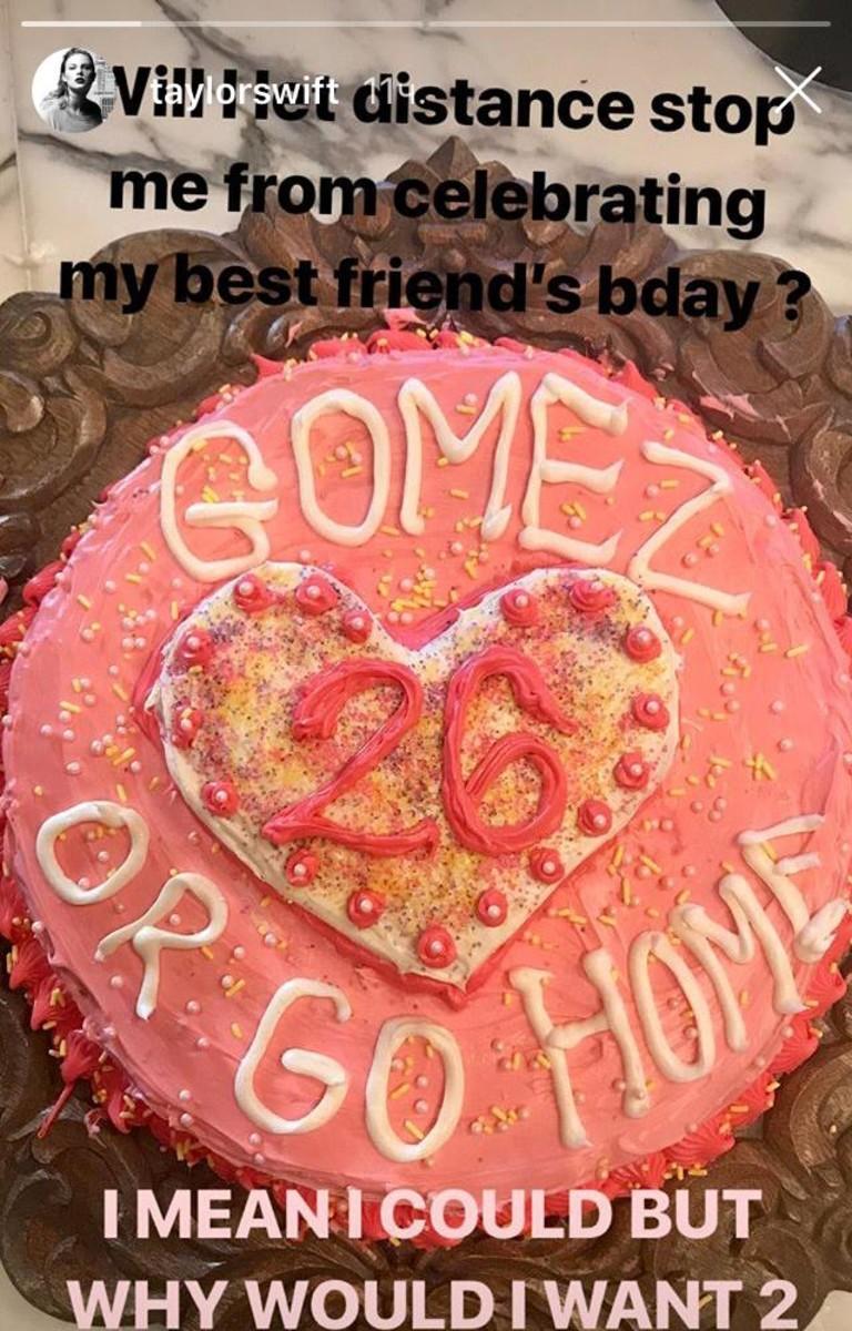 Торт для Селены Гомес