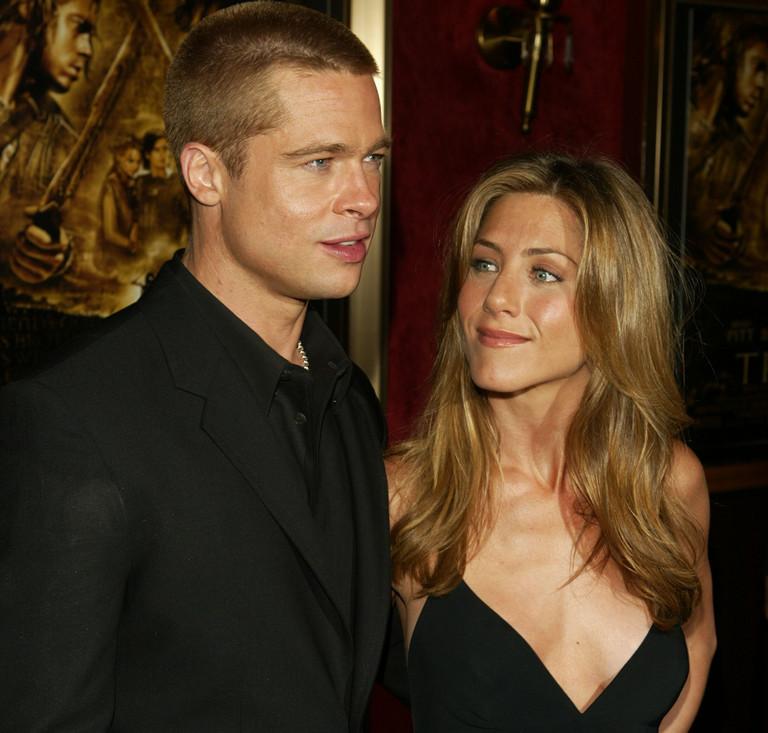 Брэд Питт и Дженнифер Энистон, 2004 год