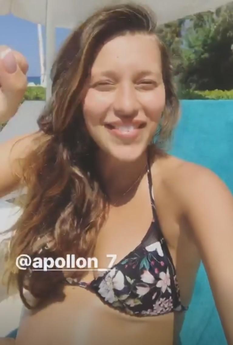 Скриншот Instagram stories Регины Тодоренко