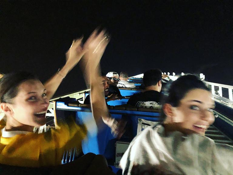 Белла Хадид и Кендалл Дженнер