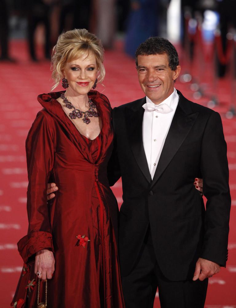 Мелани Гриффит и Антонио Бандерас (2012 год)