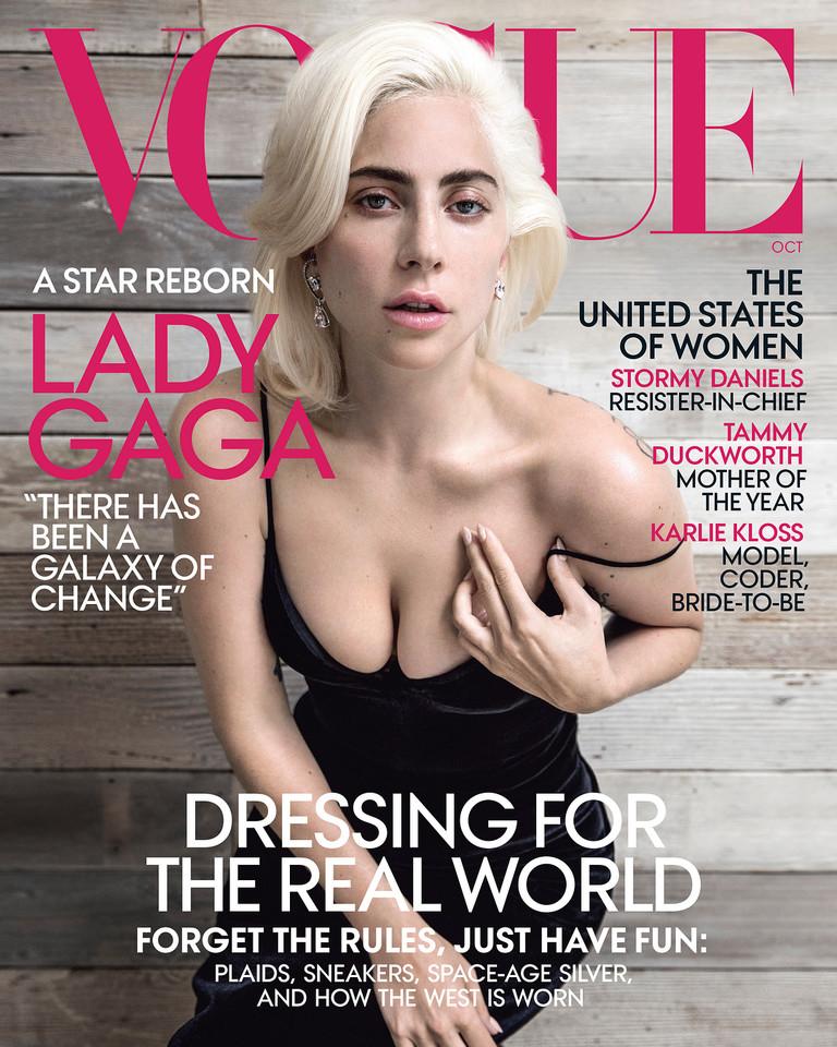 Леди Гага на обложке Vogue