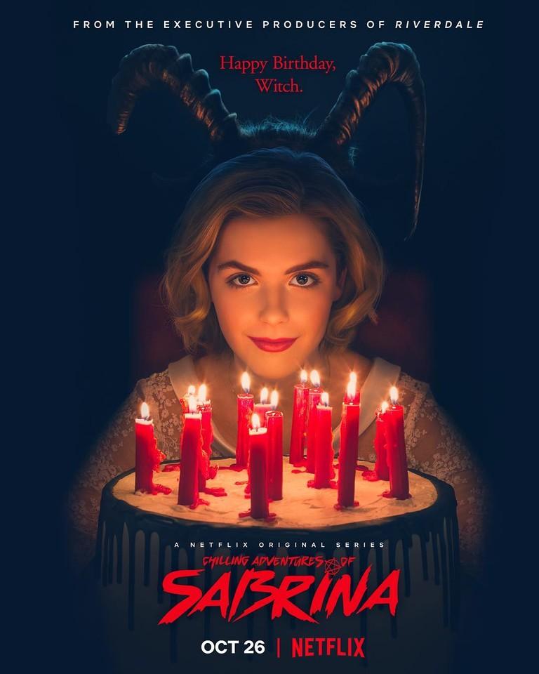 Постер сериала «Леденящие душу приключения Сабрины»