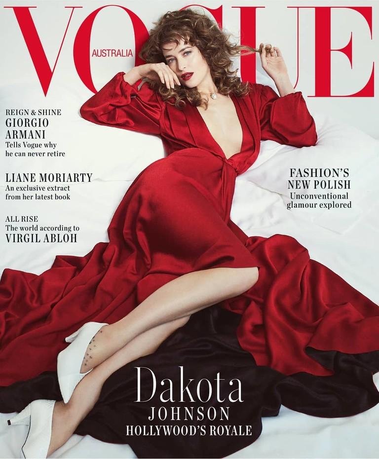 Дакота Джонсон для Vogue Australia