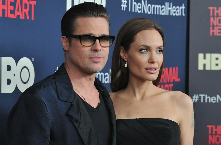 Брэд Питт и Анджелина Джоли, 2014 год