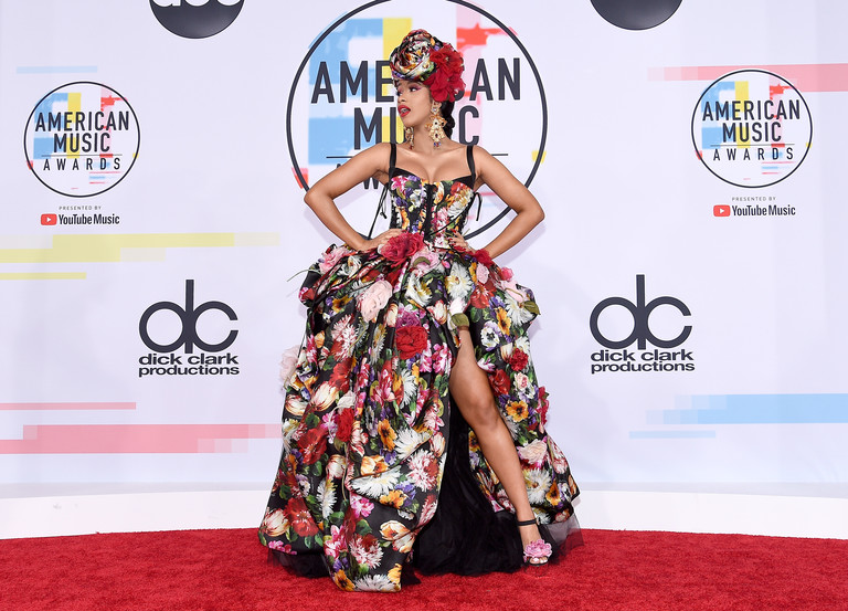 Карди Би на премии American Music Awards 2018