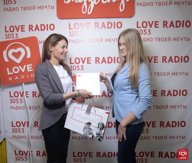 Руководитель компании «АкадемКонсалт» Ирина Следьева и слушательница Love Radio Ксения Домашенко