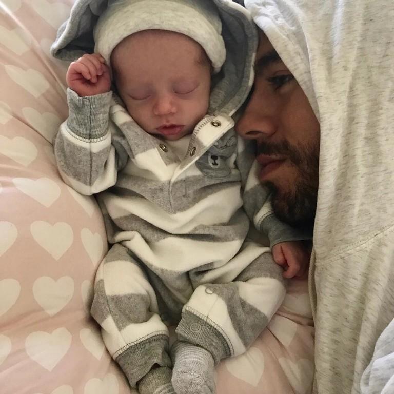 Энрике Иглесиас с сыном