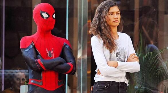 Том Холланд показал новый костюм Человека-паука Джейк ...