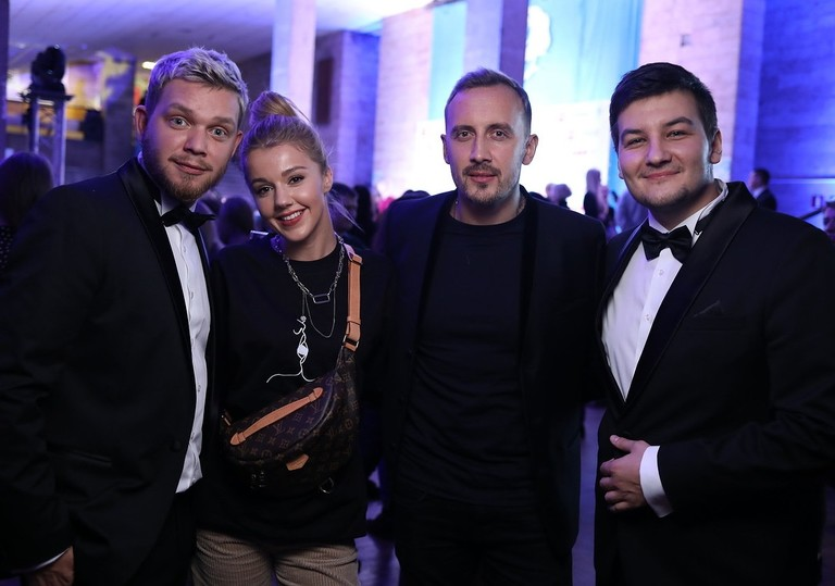 Красавцы Love Radio с Юлианной Карауловой и Андреем Черным