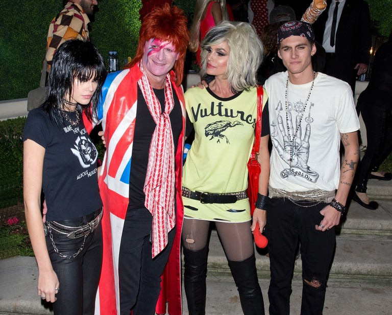 Семейство Гербер на Casamigos Halloween Party