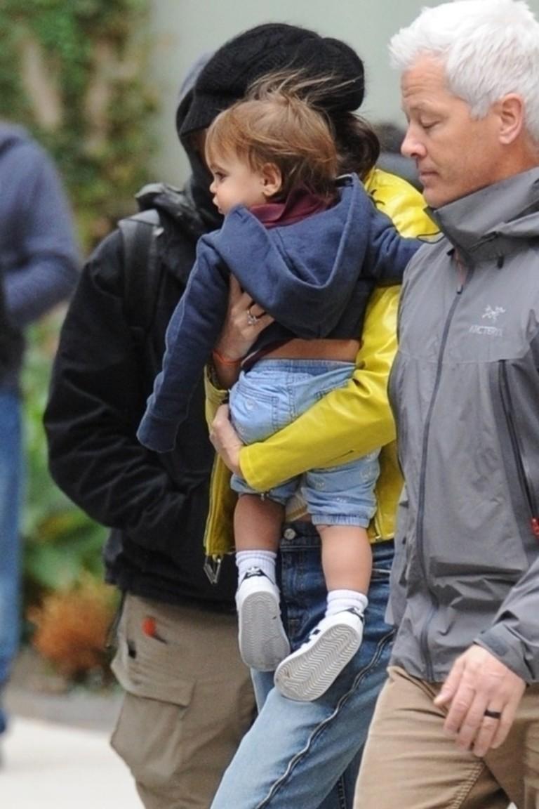 Амаль Клуни с сыном Александром