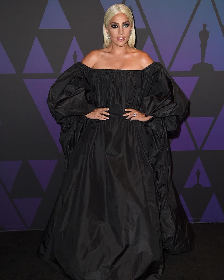 Леди Гага на Governors Awards 2018