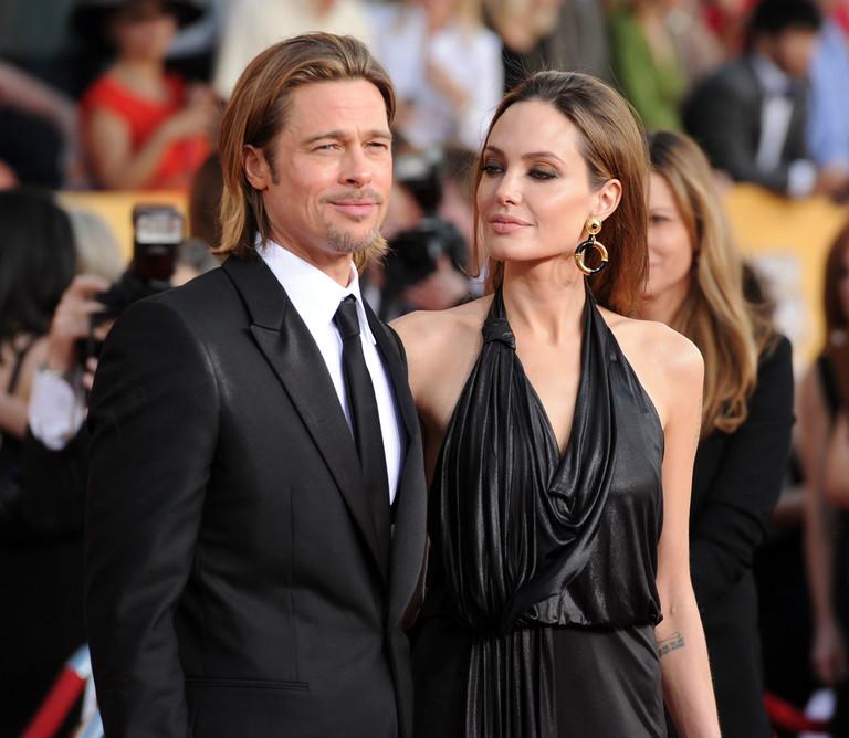 Брэд Питт и Анджелина Джоли, 2012 год
