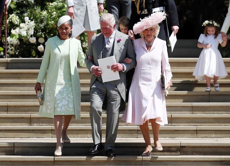 Дория Регланди принц Чарльз с супругой