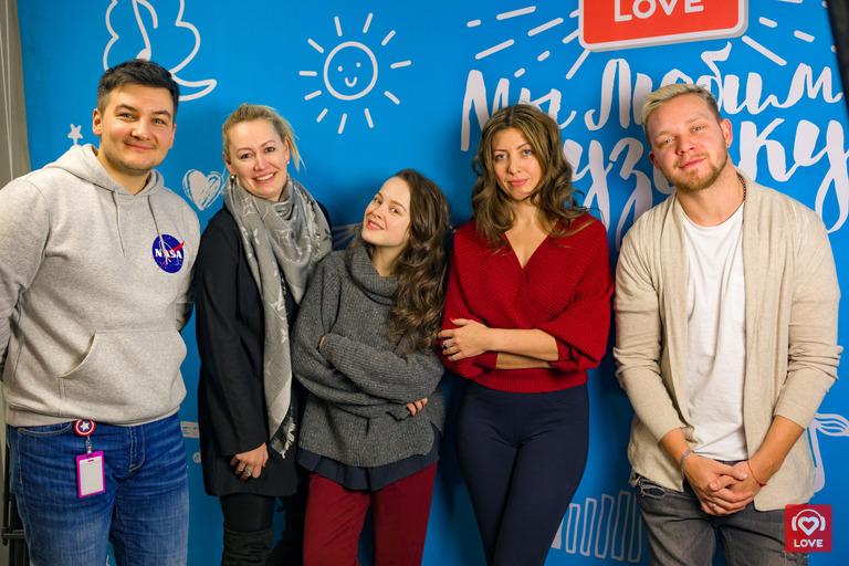 Наталия Медведева в гостях у Красавцев Love Radio