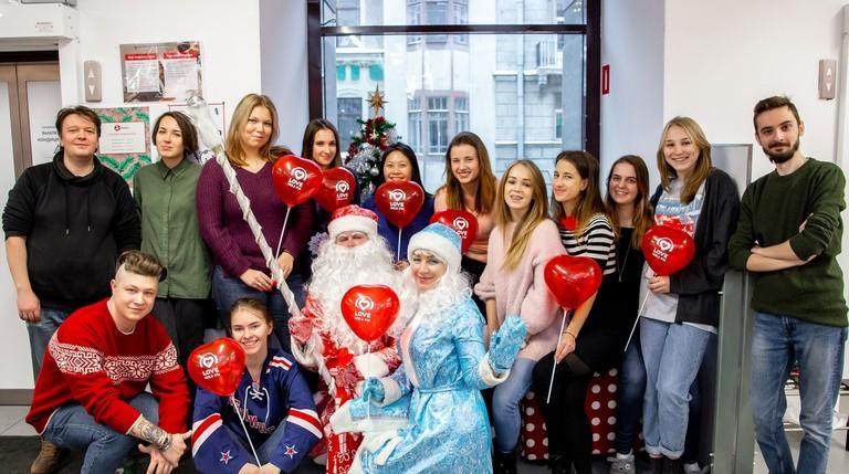 Победители акции «Битва за Деда Мороза»