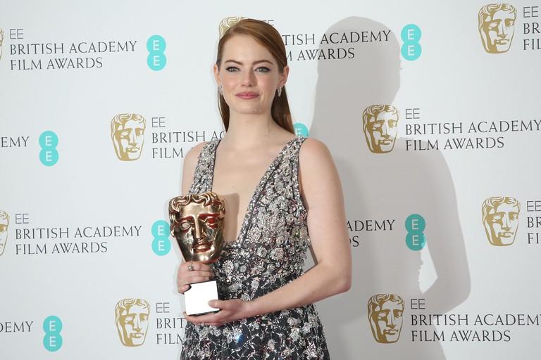 Эмма Стоун на премии BAFTA – 2017