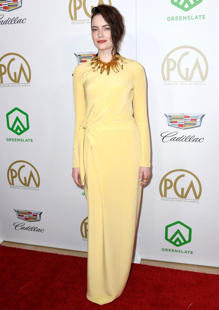Эмма Стоун на PGA Awards