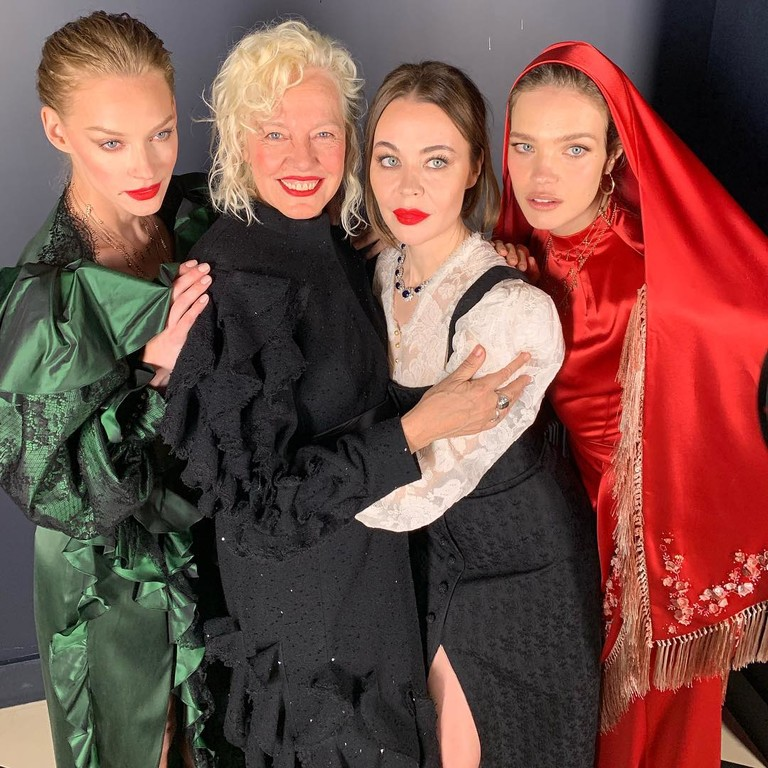 Светлана Ходченкова, Ellen von Unwerth, Ульяна Сергеенко и Наталья Водянова