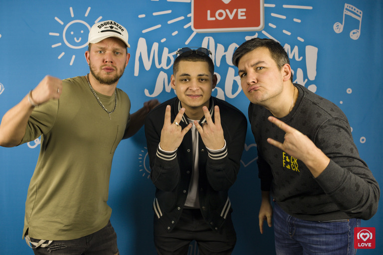 CYGO и Красавцы Love Radio