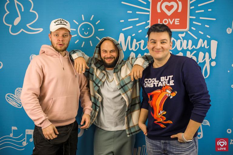 Джиган и Красавцы Love Radio