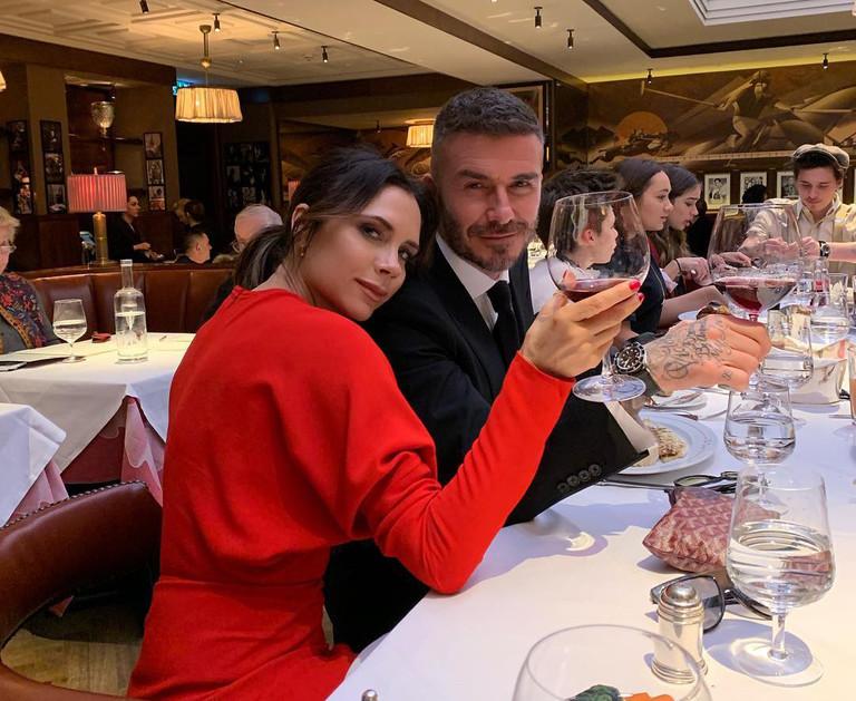 Виктория и Дэвид Бекхэм