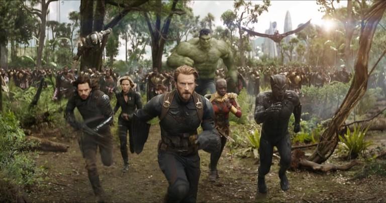Кадр из фильма «Мстители. Война Бесконечности»