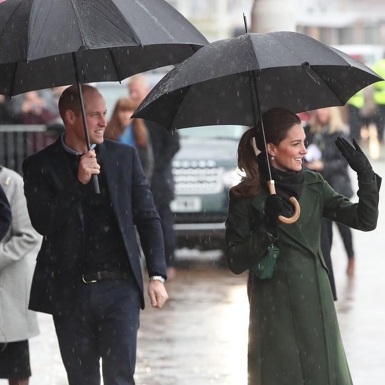 Принц Уильям и Кейт Миддлтон в Блэкпуле